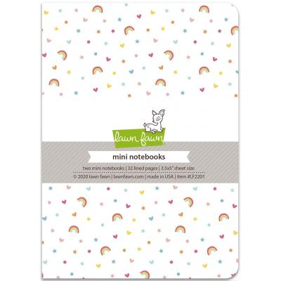 Lawn Fawn Notizbücher - Mini Notebooks - Hello Sunshine Remix