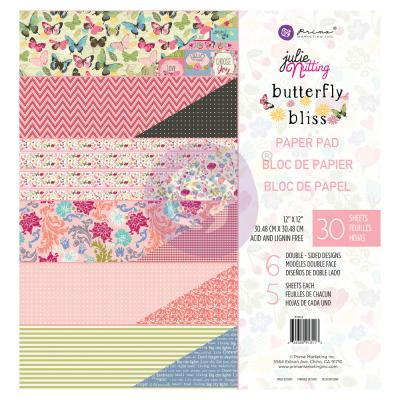 Prima Marketing Butterfly Bliss Designpapier - Paper Pad