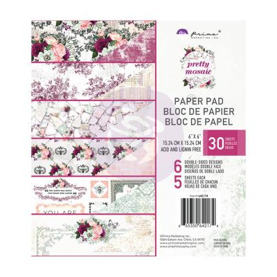 Prima Marketing Pretty Mosaic Designpapier - Paper Pad