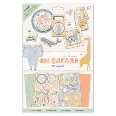 Papermania On Safari - Decoupage Pad