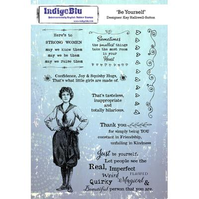 IndigoBlu Rubber Stamps - Be Yourself
