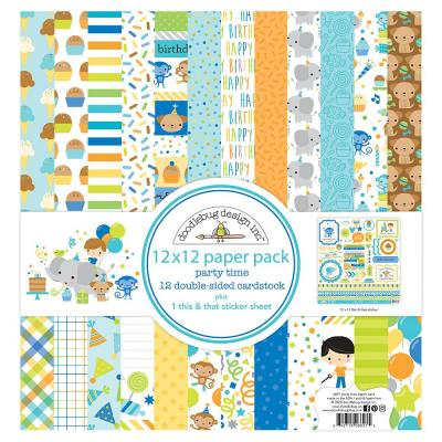 Doodlebug Party Time - Paper Pack