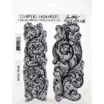 Stampers Anonymous Tim Holtz Cling Stamps - Baroque