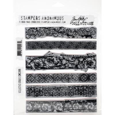 Stampers Anonymous Tim Holtz Cling Stamps -  Eclectic Edges