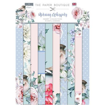 The Paper Boutique Morning Whispers  Designpapier - Insert Collection