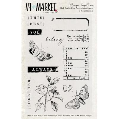 49 And Market Clear Stamps - Always Together