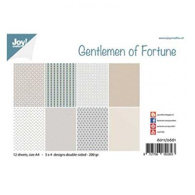 Joy!Crafts Papier Set Designpapier - Gentlemen of Fortune