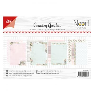 Joy!Crafts Papier Set Designpapier - Design Country Garden