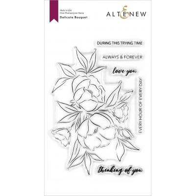 Altenew Clear Stamps - Delicate Bouquet