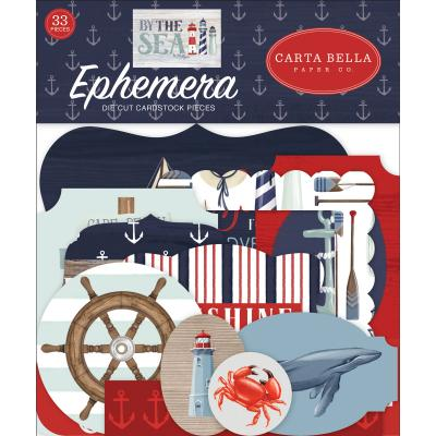 Carta Bella By The Sea Die Cuts - Ephemera