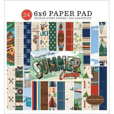 Carta Bella Summer Camp Designpapier  - Paper Pad