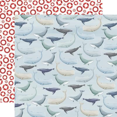 Carta Bella By The Sea Designpapier - Whales