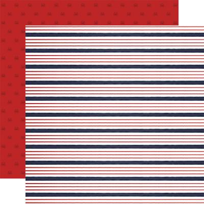 Carta Bella By The Sea Designpapier - Sailor Stripe