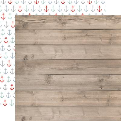 Carta Bella By The Sea Designpapier - Beach Woodgrain