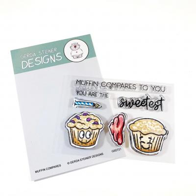 Gerda Steiner Designs Clear Stamps - Muffin Compares to You
