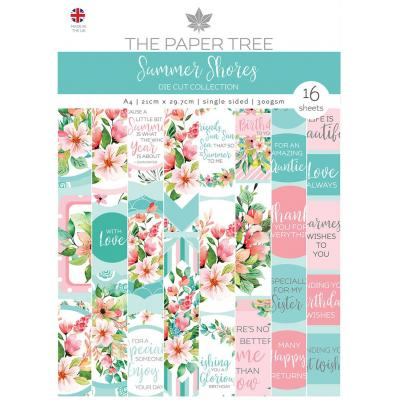 Creative Expressions Paper Tree Summer Shores - Backing Papers