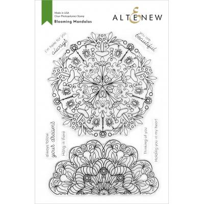 Altenew Clear Stamps - Blooming Mandalas