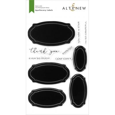 Altenew Clear Stamps - Apothecary Labels