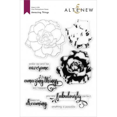 Altenew Clear Stamps - Amazing Things