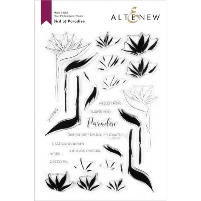 Altenew Clear Stamps - Bird of Paradise