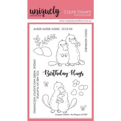 Uniquely Creative Clear Stamps - My Platypus