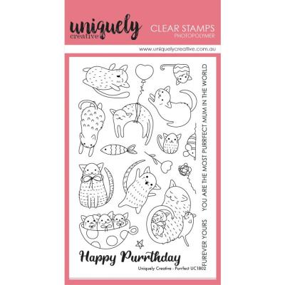 Uniquely Creative Clear Stamps - Purrfect