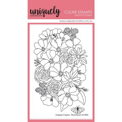 Uniquely Creative Clear Stamps - Floral Bunch