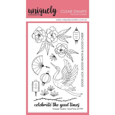 Uniquely Creative Clear Stamps -  Good Times