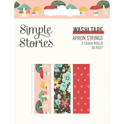 Simple Stories Apron Strings Klebebänder - Washi Tape