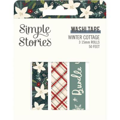 Simple Stories Winter Cottage Klebebänder - Washi Tape
