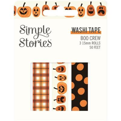 Simple Stories Boo Crew Klebebänder - Washi Tape
