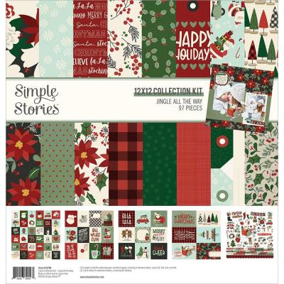 Simple Stories Jingle All The Way Designpapier - Collector's Essential Kit