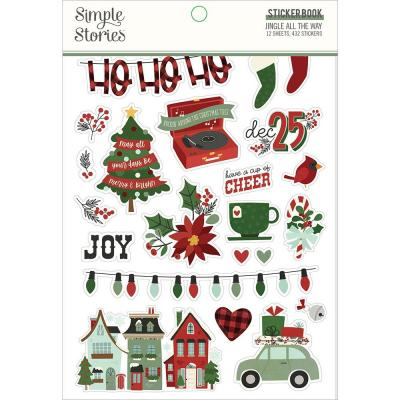 Simple Stories Jingle All The Way - Sticker Book
