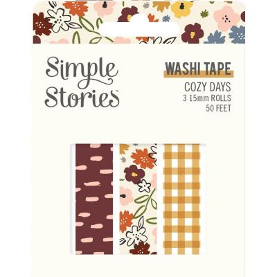 Simple Stories Cozy Days Klebebänder - Washi Tape
