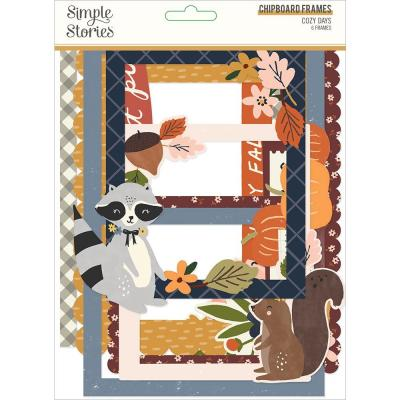 Simple Stories Cozy Days - Chipboard Frames