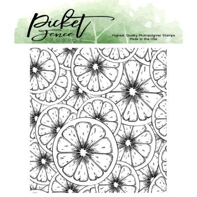 Picket Fence Studios Clear Stamp - Fruitylicious
