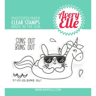 Avery Elle Clear Stamps - Suns Out