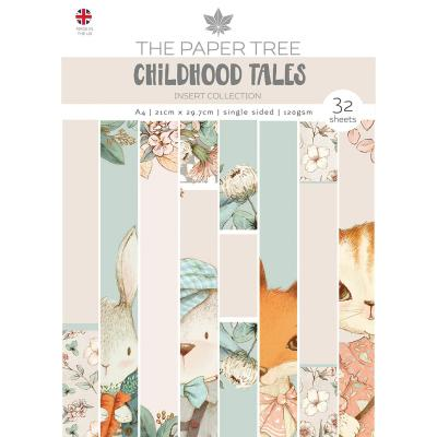 Creative Expressions Childhood Tales Designpapier - Insert Collection