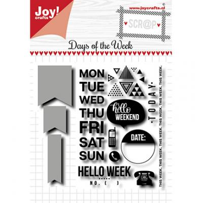 Joy!Crafts Clear Stamps - Days of The Week