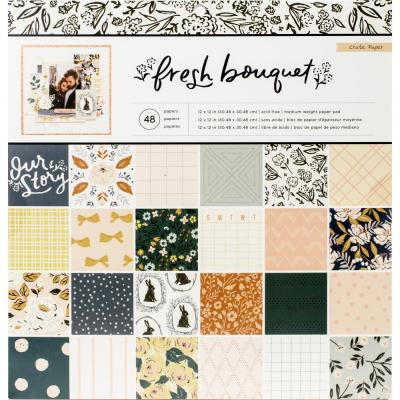 Crate Paper Designpapier - Fresh Bouquet