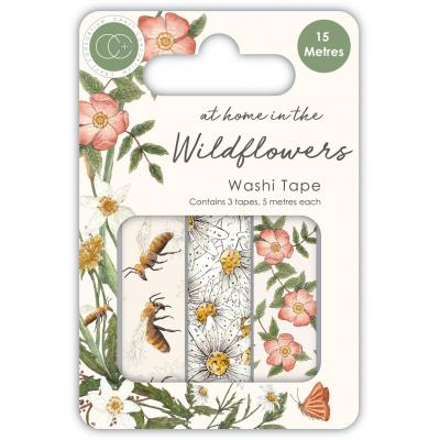 Craft Consortium At Home in the Wildflowers - Washi Tape