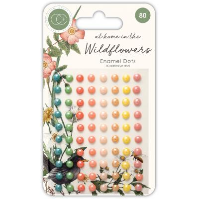 Craft Consortium Enamel Dots - At Home in the Wildflowers