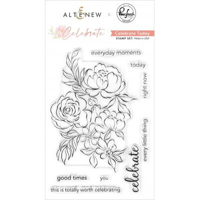 Altenew Clear Stamps - Celebrate Today
