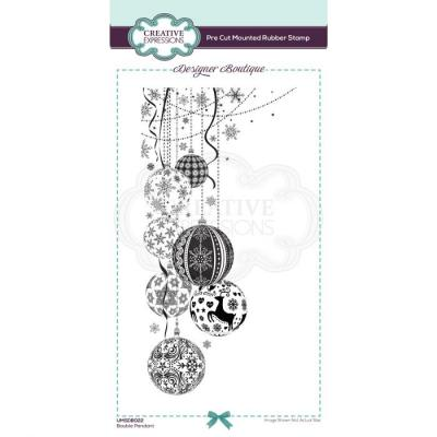 Creative Expressions Clear Stamps - Bauble Pendant