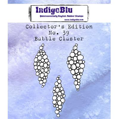 IndigoBlu Rubber Stamps - Collector's No. 39 Bubble Cluster