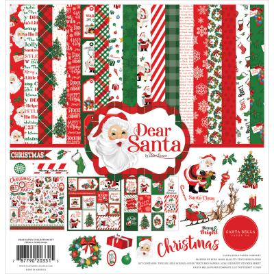Carta Bella Dear Santa Designpapier - Collection Kit