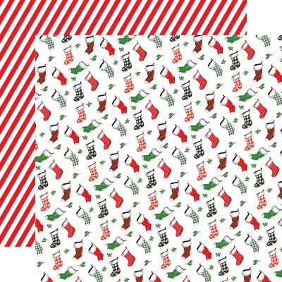 Carta Bella Dear Santa Designpapier - Stockings