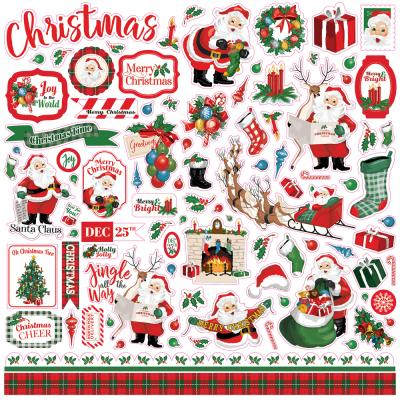 Carta Bella Dear Santa - Element Sticker