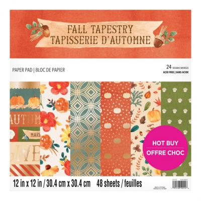 Craft Smith Fall Tapestry Designpapier - Paper Pad
