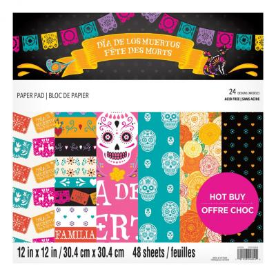 Craft Smith Day of the Dead Designpapier - Paper Pad